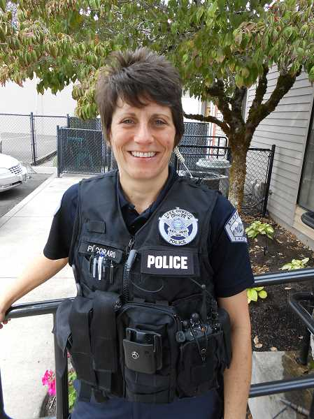 by: CLIFF NEWELL - Lake Oswego Police Department Officer Dawn Pecoraro went by a higher law when it came to helping a local family in bad trouble.
