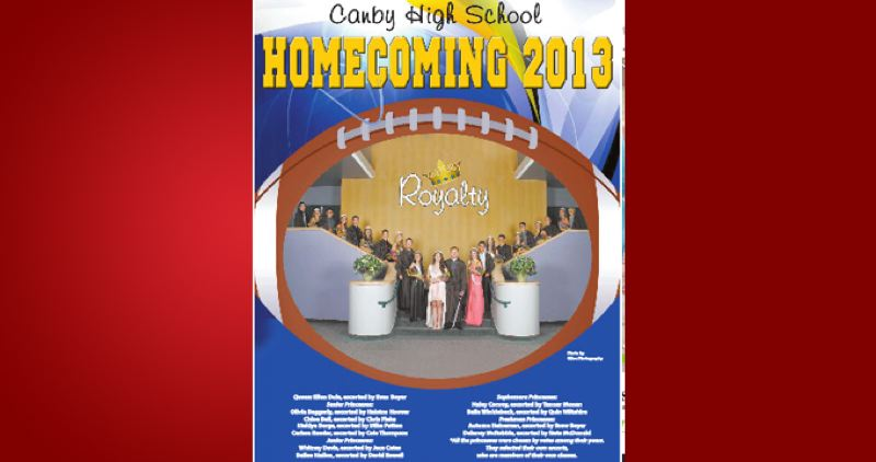 (Image is Clickable Link) by: PAMPLIN MEDIA GROUP - Canby Homecoming 2013