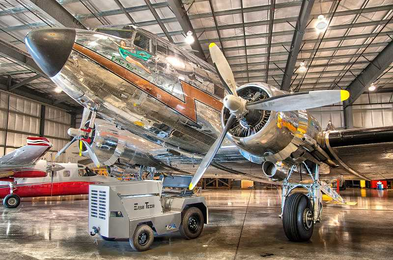 by: JOSH KULLA - This DC-3 was restored by Aerometal International, a company dedicated to rebuilding vintage aircraft to FAA standards.
