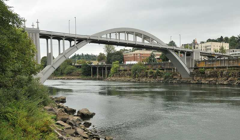 by: TIDINGS PHOTO: VERN UYETAKE - West Linn hopes to work closely with Oregon City throughout the planning process.