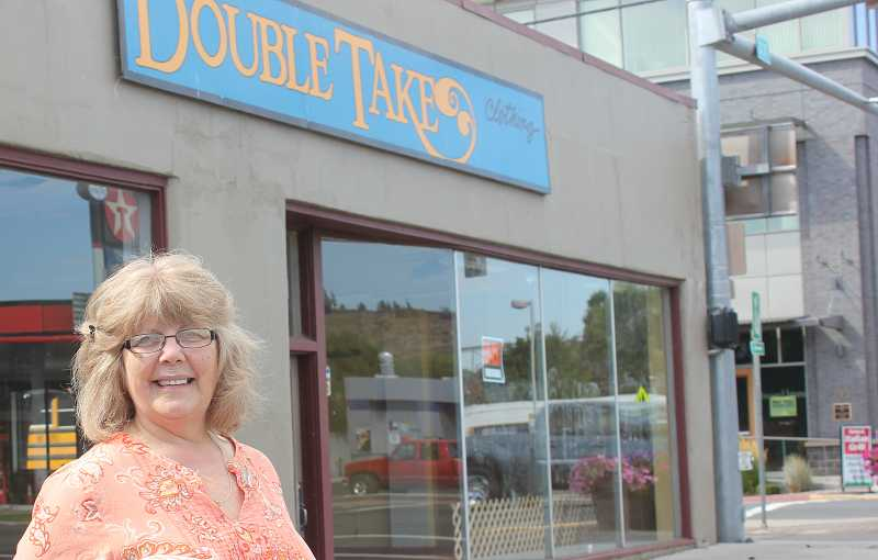 by: SUSAN MATHENY - The sale of the DoubleTake building led to the closure of the business, on D Street, which Jan Six had operated for 24 years.