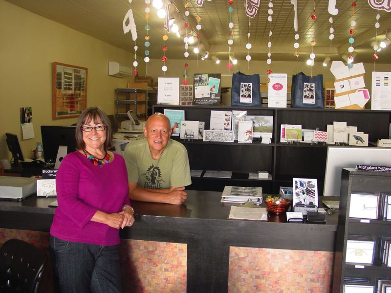 by: PHOTO: MERRY MACKINNON - Deborah and John Field, co-owners of Paperjam Press in Northeast Portland, rebuilt their print business from scratch after the recession hit. But they had to lay off all their employess and they lost most of their retirement savings.