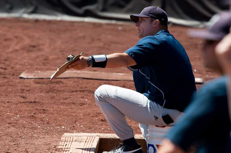 by: GREG ARTMAN / FILE - Matt Kosderka is returning to his alma mater, Willamette University, as an assistant coach after 10 years at the helm of the Wilsonville baseball program. The Wildcats reached the state semifinals three times during his tenure.