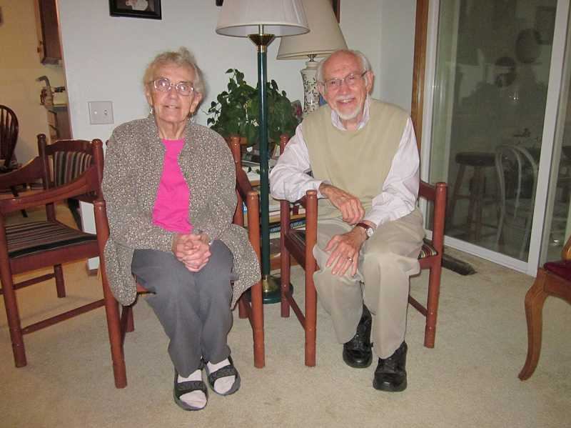 by: BARBARA SHERMAN - AN ACTIVE LIFE - Beth and Bert Ferrel have lived in King City for 20 years and are active volunteers at the KCCA library and Grace Point Community Church.