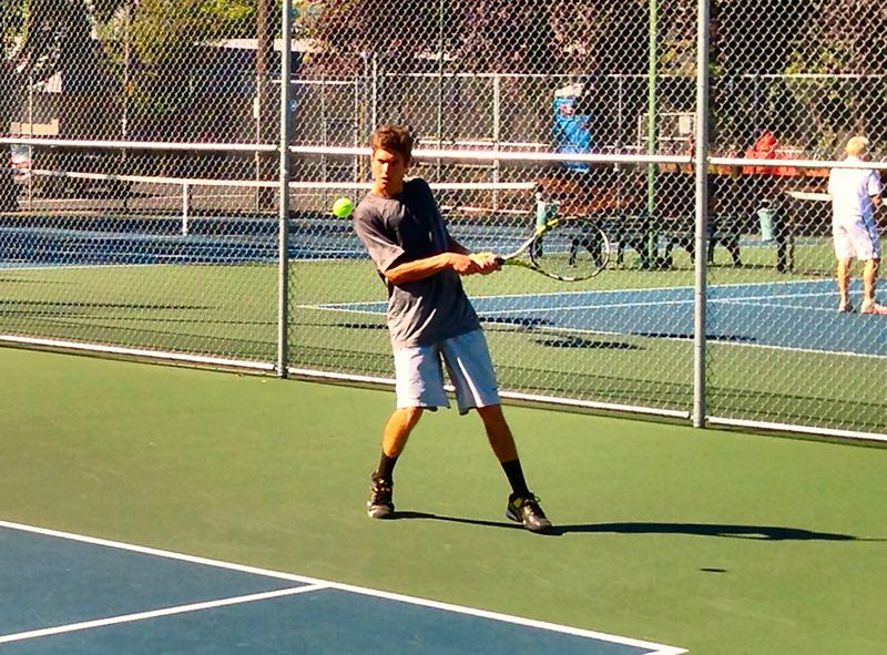by: WILLIAM A. HENDERSON - Tennis Tournament