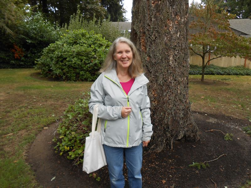 by: CLIFF NEWELL - Carole Ockert hopes the city of Lake Oswego will preserve a stand of trees in Forest Hills on a site where a water tower once stood. It is across the street from a house where the great American poet William Stafford and his wife, Dorothy, lived for many years, and across from Forest Hills Elementary School.