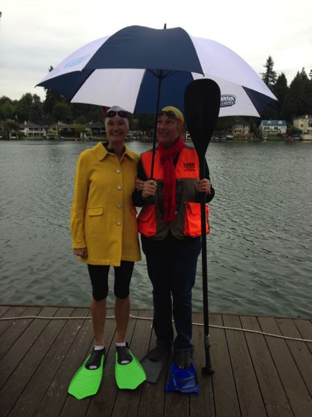 (Image is Clickable Link) by: SUBMITTED - Organizers Paul Schiedler, left, and Renee Kerr, postponed the Down Syndrome Network Oregon Buddy Walk from last weekend to this Sunday.