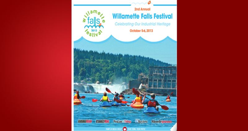 (Image is Clickable Link) by: PAMPLIN MEDIA GROUP - Willamette Falls Festival 2013