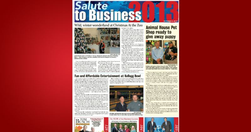 (Image is Clickable Link) by: PAMPLIN MEDIA GROUP - Salute to Business 2013