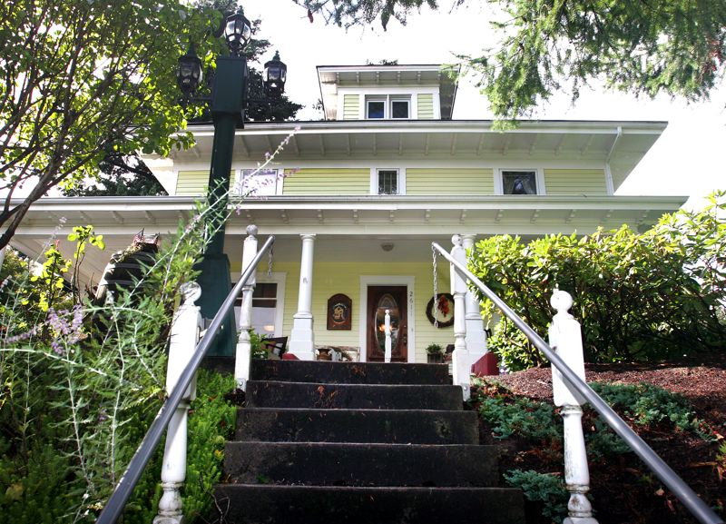 by: OUTLOOK PHOTO: JIM CLARK - Cedar Place was built In 1907 for the Olsen family on South Troutdale Road.