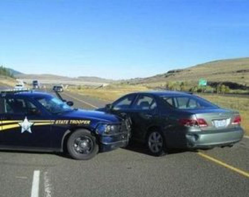 by: WASHINGTON COUNTY SHERIFF'S OFFICE - An Oregon State Police trooper stopped the car with the murder suspects.