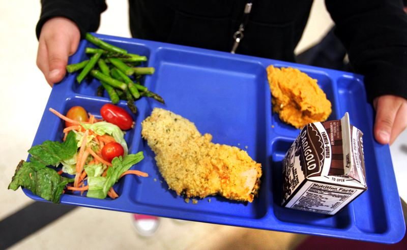 by: OUTLOOK FILE PHOTO: JIM CLARK - With 80 percent of its students on free and reduced lunches, Reynolds MIddle School is considered the sixth highest-need school in Multnomah County. The county just approved funds to start a school food bank at Reynolds Middle.