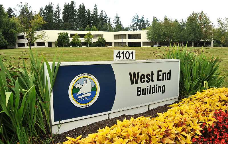 by: REVIEW FILE PHOTO: VERN UYETAKE - The Lake Oswego City Council this week advanced plans to sell the West End Building for $16.5 million. The city bought the 14-acre property for $20 million in 2006.
