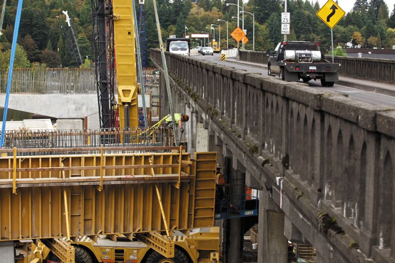 by: FILE PHOTO - Oregon State Treasurer Ted Wheeler struggled to understand how to fund the Sellwood Bridge replacement project when he was chairman of Multnomah County.