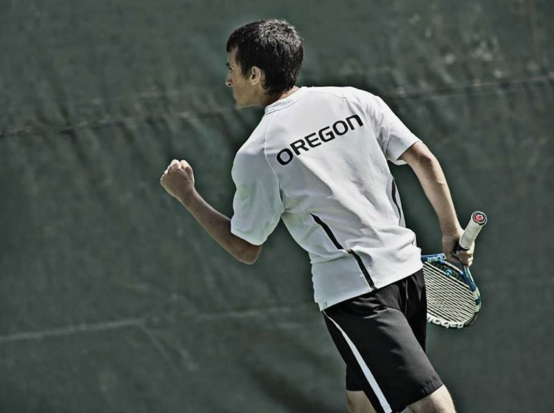 by: COURTESY OF UNIVERSITY OF OREGON - A Nov. 9 ceremony is planned at the University of Oregon to name center court at the Student Tennis Center in honor of Alex Rovello, the former Cleveland High and UO star who died in May at age 21.