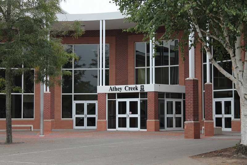 by: FILE PHOTO - Athey Creek received the school district's only Level 3 rating for the 2012-13 school year.