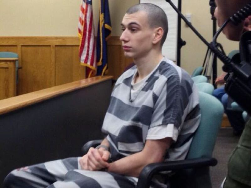 by: KOIN 6 NEWS - Austin Vanhagen, 20, of Oregon City was sentenced to 15 years in prison in Clackamas County Court on Tuesday, Oct. 15, after pleading no contest to stabbing a bus driver and two passengers in October 2012.