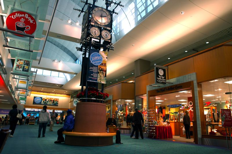 (Image is Clickable Link) by: COURTESY OF PORT OF PORTLAND - Portland International Airport's shopping and dining options were among the reasons readers of Travel + Leisure Magazine chose PDX as the nation's top airport in a recent survey.