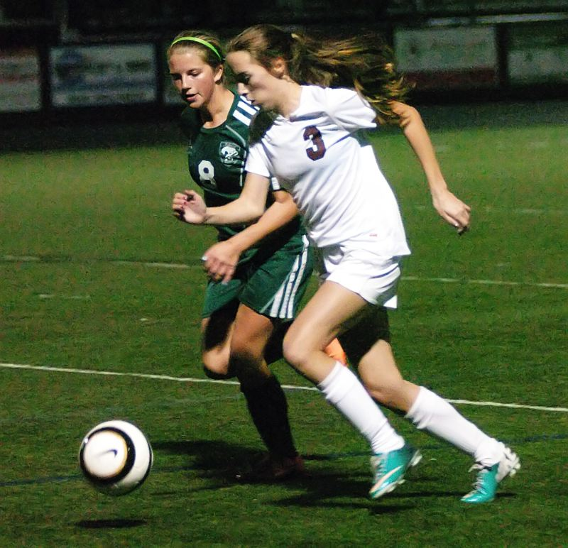 by: DAN BROOD - TOP SCORER -- Sherwood senior Mckenzie Cottle (3) had two goals and an assist in the Lady Bowmen's 5-1 win over Parkrose.