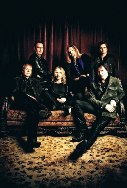by: COURTESY OF ASH NEWELL - The recent incarnation of Styx, which includes longtime guitarist James Young (far left), performs at the Chinook Winds Casino in Lincoln City, Oct. 25 and 26.