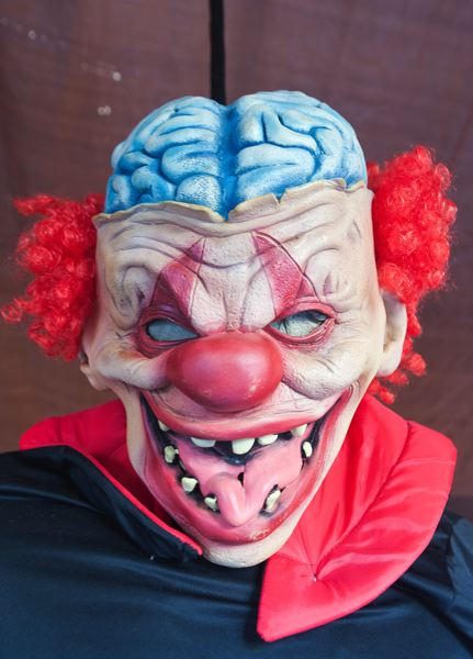by: SPOKESMAN PHOTO: JOSH KULLA - Clowns might never look the same again to you after youre finished with the upcoming Shriners haunted house.