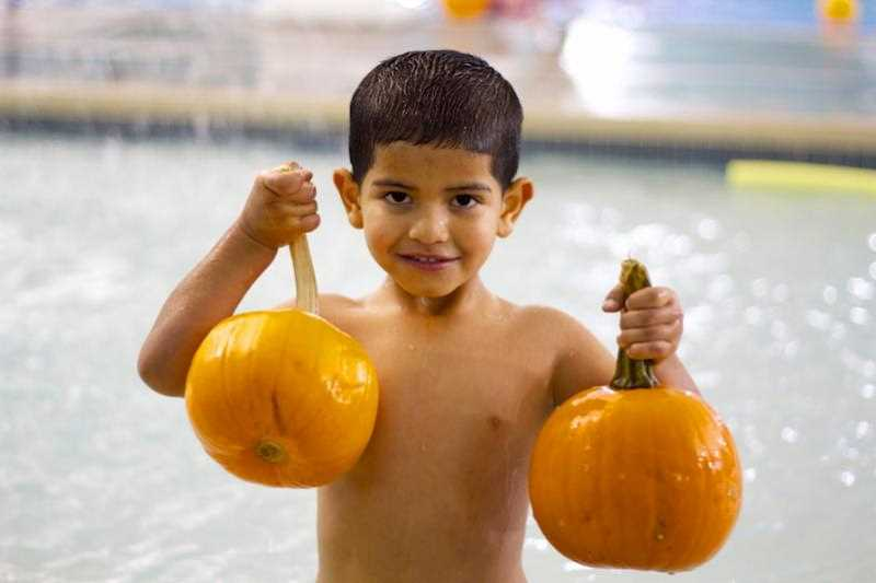 by: SUBMITTED - Spooky Splash at the Woodburn Aquatic Center is Saturday.