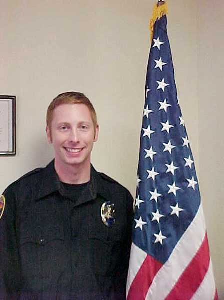 by: COURTESY PHOTO - New Cornelius officer Matt Harris, 30, is a Portland native and is married with two children.