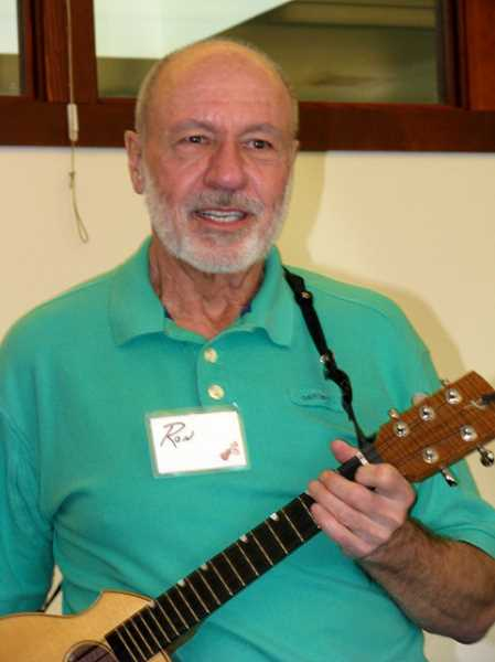 by: SUBMITTED PHOTO:  - Ron McCallister rocks on his five-string uke.