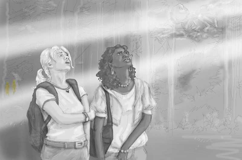 by: JOHN TETON - The characters Lucy and Alicia find themselves in a forest in 'Thunder Head Clearing.' The video will have no dialogue but it will pack plenty of meaning.