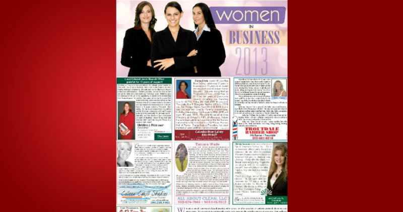 (Image is Clickable Link) by: PAMPLIN MEDIA GROUP - Women in Business 2013