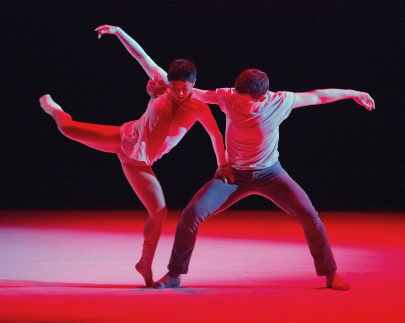 by: COURTESY OF BLAINE TRUITT COVERT - Dancers Ching Ching Wong and Patrick Kilbane are part of Northwest Dance Projects New Now Wow! Itll Oct. 24-26 at Lincoln Hall.
