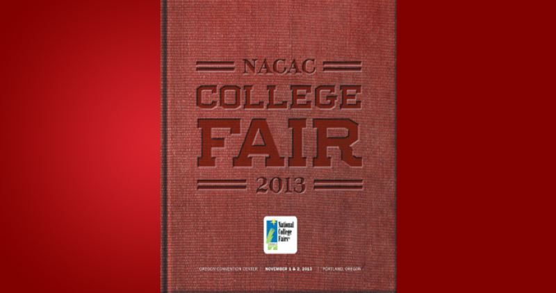 (Image is Clickable Link) by: PAMPLIN MEDIA GROUP - NACAC College FAir 2013