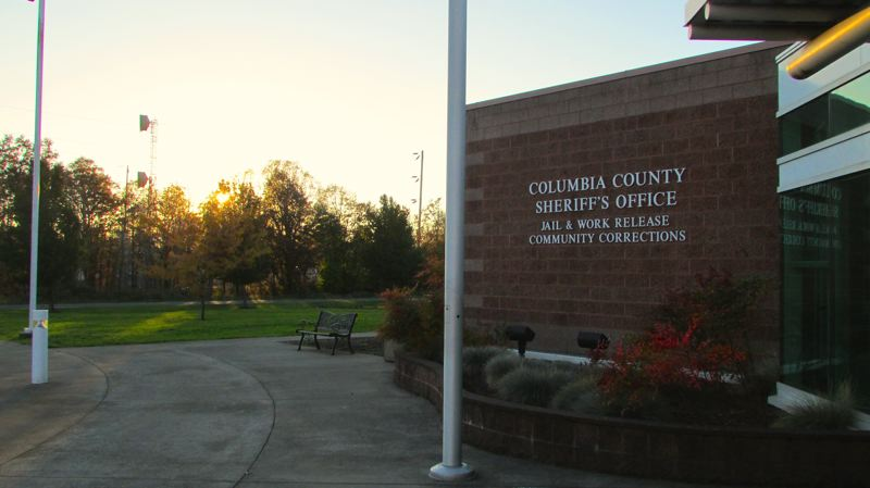 by: SPOTLIGHT PHOTO: MARK MILLER - The Columbia County Jail could close if voters do not approve a property tax increase on the November ballot to bolster county funding, according to the Columbia County Sheriffs Office and Board of County Commissioners.