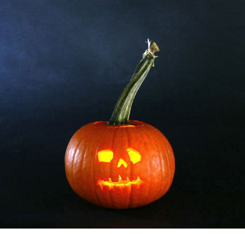Irish immigrants believed carved pumpkins kept the devil and other spirits at bay.