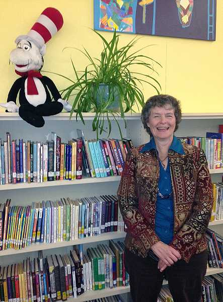 by: SUBMITTED - Heidi Pramuk, librarian at Lincoln Elementary School in Woodburn, has been named Elementary School Librarian of the Year by the Oregon Association of School Libraries.