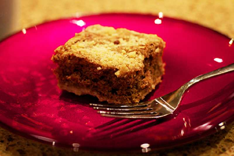 by: DAN PRED - These buttermilk bars are comparable to, if not better than, a coffee shop coffee cake, making it a perfect pairing with coffee or hot cocoa.