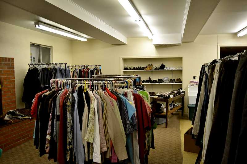 by: CINDY FAMA - Colton Community Clothes Closet is moving to the basement of the Parrish Hall of Colton Lutheran Church.