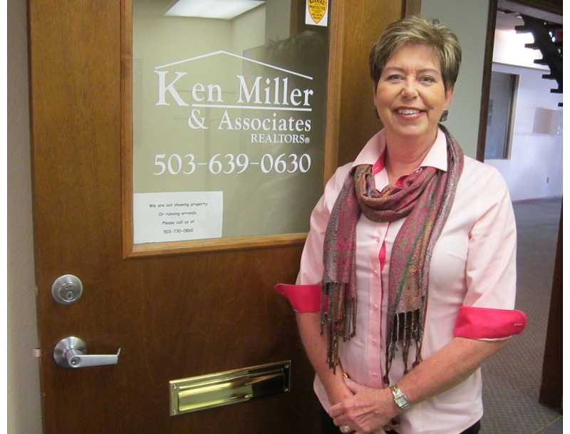 by: BARBARA SHERMAN - THERE'S NO STOPPING HER -Sandy Brewer became a real estate agent in late 2012 and has surpassed even her boss Ken Miller in sales so far in 2013.
