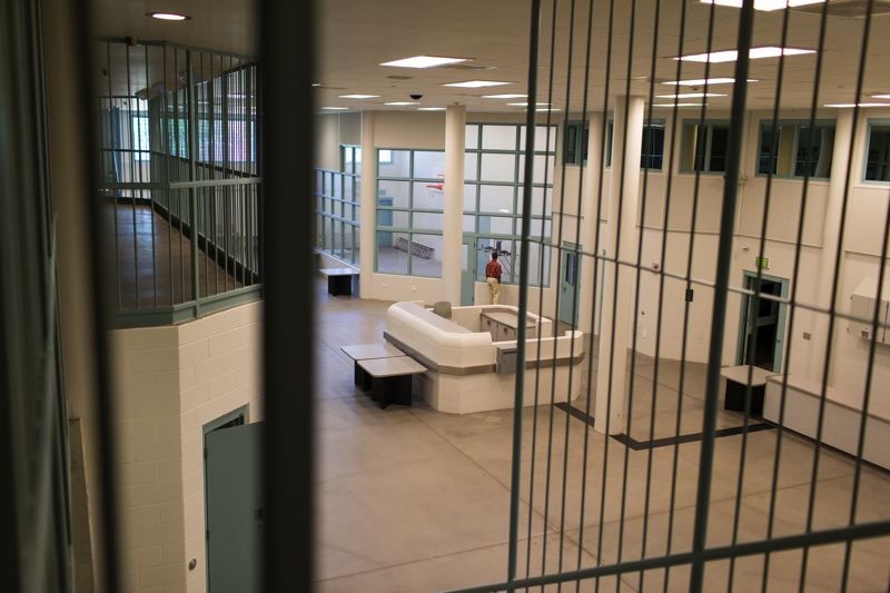 by: FILE PHOTO - The Multnomah County Wapato Facility, a jail built at the same time the Columbia County Jail was constructed that has never been used. Both jails were built after voters approved bonds to cover construction costs without any levy for operating funds.