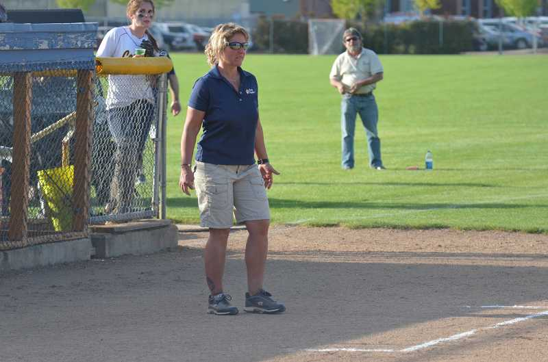 by: JEFF GOODMAN / FILE - Laurie Smallwood resigned as coach of the Canby softball team after two seasons. The Cougars went 31-22 during her tenure.