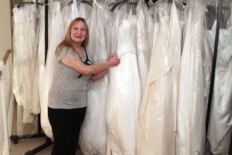 by: PHOTO BY: DAVID F. ASHTON - Clackamas-based bridal couturier Tres Fabu owner Jan Schumacher will be the keynote speaker at the Donate Life Northwest Lifesaver Breakfast.