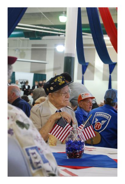 by: CONTRIBUTED PHOTO: MIKE ANDERSON - Veterans from all generations, from World War II to active service, will gather to tell their stories and celebrate their service with Reynolds students Friday for Living History Day.