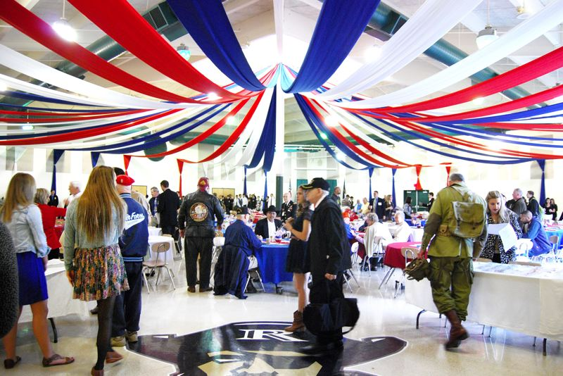 by: CONTRIBUTED PHOTO: MIKE ANDERSON - Reynolds High School will transform into a patriotic oasis this week for the third annual Living History Day.