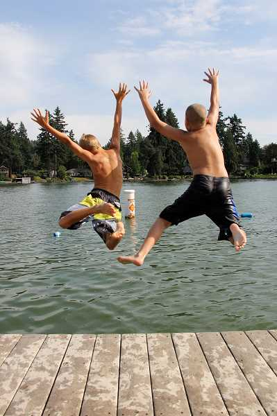 'Summer at Lake Grove Swim Park' by Ronda Sol took first place in the Life in Lake Oswego category in the city's annual photo contest.