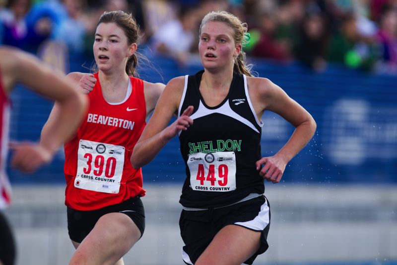 by: TIMES PHOTO: DAVID BLAIR - Beaverton junior Erin Gregoire placed ninth at the 6A State Championships on Saturday.
