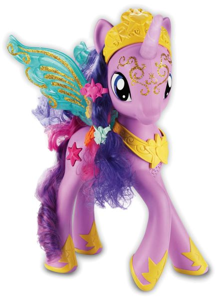 by: COURTESY OF HASBRO - One suggestion: Name the bridge for Hasbro's Sparkle Pony My Little Pony figure.