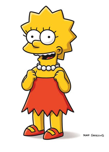 by: COURTESY OF FOX - City Commissioner Steve Novick suggested naming the bridge for animated TV character Lisa Simpson, which he called the social conscience of the longrunning Fox network show. Creator Matt Groening is a Portland native.