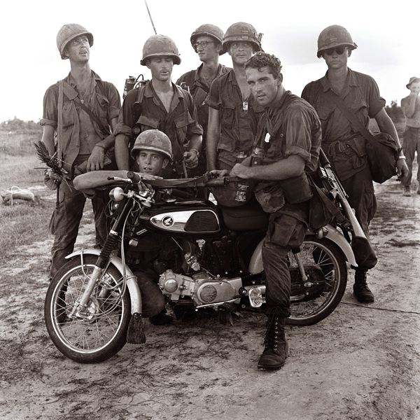 Captured VC Motorcycle