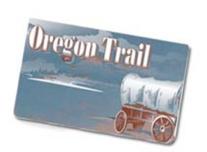 by: OREGON DEPARTMENT OF HUMAN SERVICES - Oregon's food stamp benefits are distributed via Oregon Trail cards.