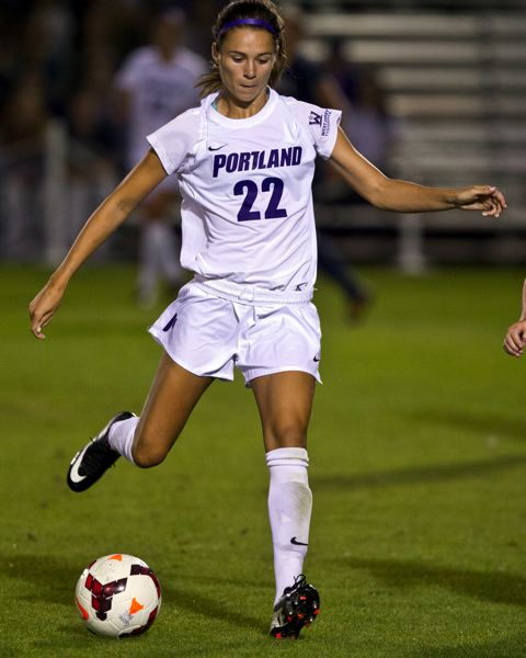 by: COURTESY OF UNIVERSITY OF PORTLAND - Senior Ellen Parker and the Portland Pilots will open the NCAA playoffs at home Saturday night against Seattle.